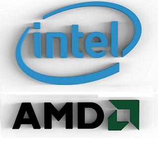 Logo Intel AMD
